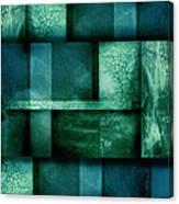 abstract art Blue Dream Canvas Print