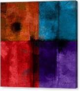abstract - art- Color Block Square Canvas Print
