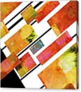 abstract art Homage to Mondrian Canvas Print