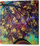 Abstract Art Original Landscape Painting Go Forth IIi By Madart Studios Canvas Print