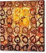 Abstract Art Sixty-six Canvas Print