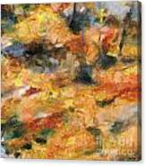 Abstract Autumn 1 Canvas Print