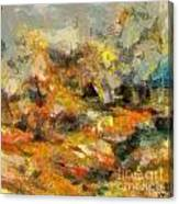 Abstract Autumn 2 Canvas Print