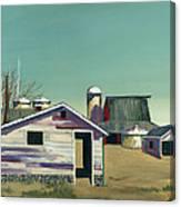 Abstract Barn Canvas Print