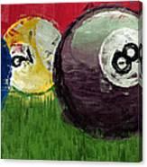 Abstract Billiards  Canvas Print