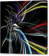 Abstract Bird In Light Canvas Print