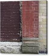 Abstract Brick Wall 1 Canvas Print