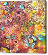 Abstract Colorama Canvas Print