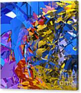 Abstract Curvy 13 Canvas Print