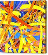 Abstract Curvy 22 Canvas Print