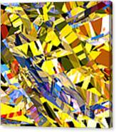 Abstract Curvy 34 Canvas Print