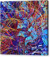 Abstract Curvy 36 Canvas Print