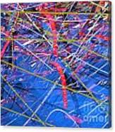 Abstract Curvy 46 Canvas Print