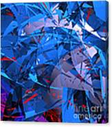 Abstract Curvy 9 Canvas Print