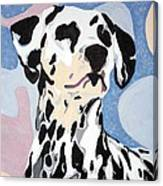 Abstract Dalmatian Canvas Print