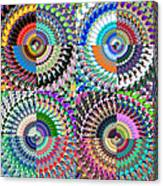 Abstract Digital Art Collage Canvas Print