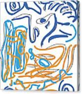Abstract Digital Canvas Print