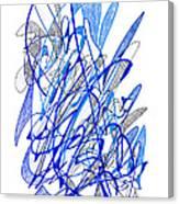 Abstract Drawing Seventy Canvas Print