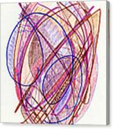 Abstract Drawing Twenty-two Canvas Print