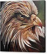 Abstract Eagle Painting Canvas Print