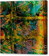 Abstract - Emotion - Facade Canvas Print