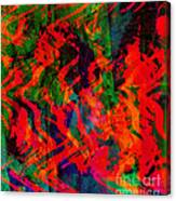 Abstract - Emotion - Rage Canvas Print