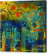 Abstract Expressions - Background Art Canvas Print