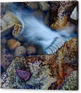 Abstract Falls Canvas Print