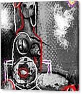 Abstract Figure Dec 14 2014 Canvas Print