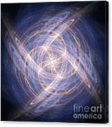 Abstract Fractal Background 17 Canvas Print