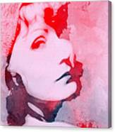 Abstract Garbo Canvas Print