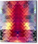 Abstract Geometric Spectrum Canvas Print