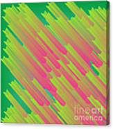 Abstract Glowing Structures Canvas Print