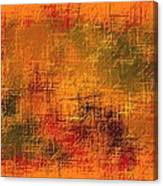 Abstract Golden Earth Tones Abstract Canvas Print