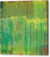 Abstract Grunge Scratched Texture Canvas Print
