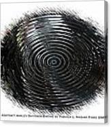 Abstract Harley Davidson Engine Canvas Print