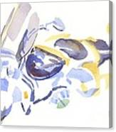 Abstract Motorcycle Canvas Print