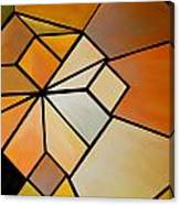Abstract Impossible Warm Figure Canvas Print