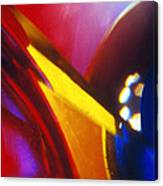 Abstract In Glass Canvas Print