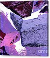 Abstract In Purple Canvas Print