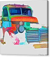Abstract Jimmy Canvas Print