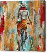 Abstract Lady 4  Canvas Print