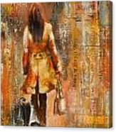 Abstract Lady  5 Canvas Print