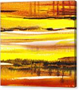 Abstract Landscape Found Reflections Canvas Print