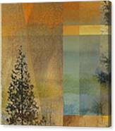 Abstract Landscape One Canvas Print