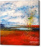 Abstract Lanscape Canvas Print