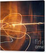 Abstract Light Streaks Canvas Print