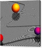 Abstract - Lines - That's A Moire Canvas Print