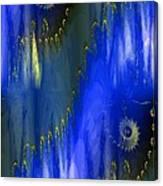 Abstract Nautilus Canvas Print