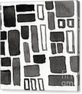 Abstract Open Windows Canvas Print